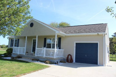 Greenbackville VA Single Family Home Under Contract/Continue To Sho: $139,900