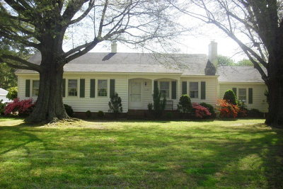Exmore VA Single Family Home For Sale: $157,500