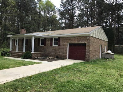 Quinby VA Single Family Home For Sale: $89,000