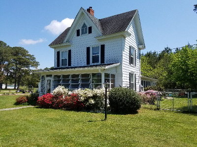 Onancock VA Single Family Home For Sale: $161,000