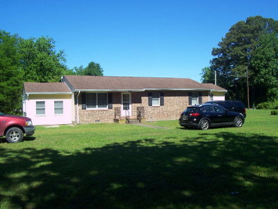 Eastville VA Single Family Home Under Contract/Continue To Sho: $98,500
