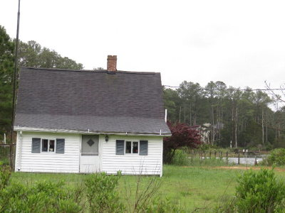 Hacksneck VA Single Family Home For Sale: $89,000
