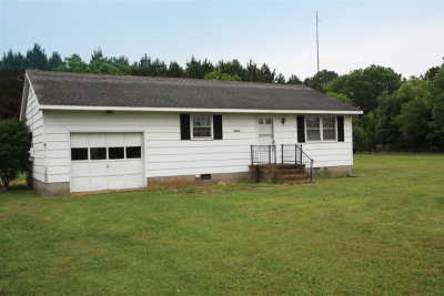 Mappsville VA Single Family Home For Sale: $85,000