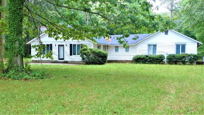 Franktown VA Single Family Home For Sale: $149,000