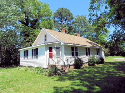 Capeville VA Single Family Home For Sale: $149,000