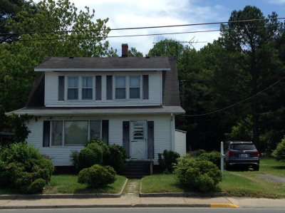 Exmore VA Single Family Home For Sale: $49,000