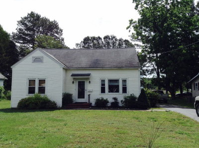 Onancock VA Single Family Home For Sale: $145,000