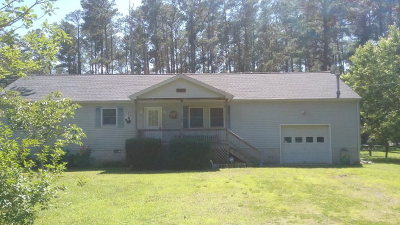 Onancock VA Single Family Home For Sale: $127,500