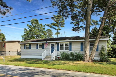 Chincoteague VA Single Family Home For Sale: $178,000