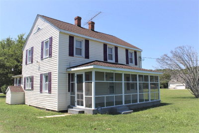 Eastville VA Single Family Home For Sale: $129,900