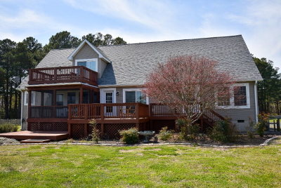 Northampton County Single Family Home Under Contract/Continue To Sho: 3173 Channel Bass Ln