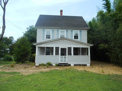 Onancock VA Single Family Home For Sale: $56,900