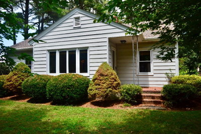 Parksley VA Single Family Home For Sale: $125,000