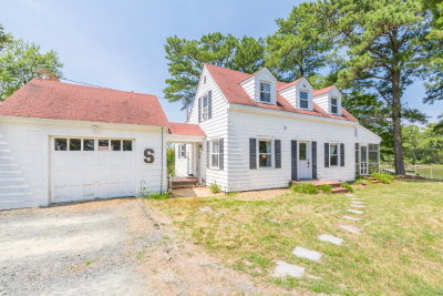 Northampton County, Accomack County Single Family Home For Sale: 11171 Indian Trail Rd
