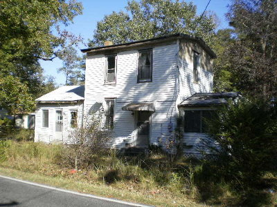 Northampton County, Accomack County Single Family Home For Sale: 12197 Mears Station Rd