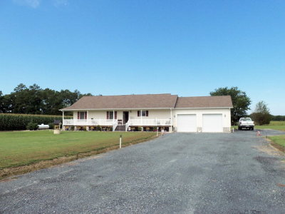 Northampton County, Accomack County Single Family Home For Sale: 5276 Bullbeggar Rd