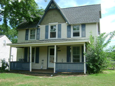 Accomack County Single Family Home For Sale: 24101 Catherine St