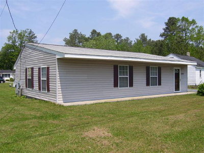 Northampton County, Accomack County Single Family Home For Sale: 15454 Lankford Hwy