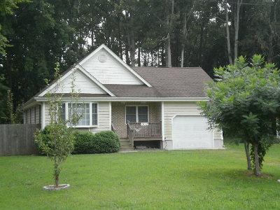 Accomack County Single Family Home For Sale: 15086 Shields Bridge Rd
