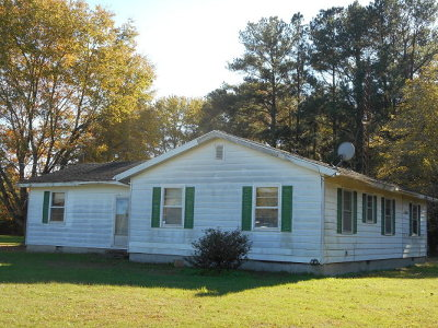 Northampton County, Accomack County Single Family Home For Sale: 31229 Nocks Landing Rd