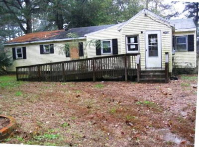 Northampton County, Accomack County Single Family Home For Sale: 20410 Parsons Rd