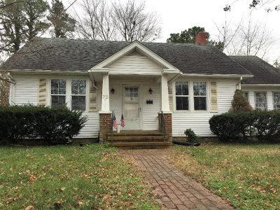 Onancock Single Family Home For Sale: 72 Kerr St