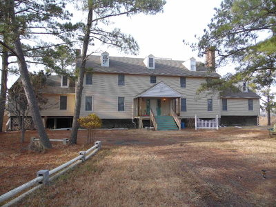 Accomack County, Northampton County Single Family Home For Sale: 23519 Guards Shore Rd