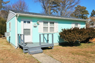 Chincoteague Single Family Home For Sale: 4463 Chicken City Rd