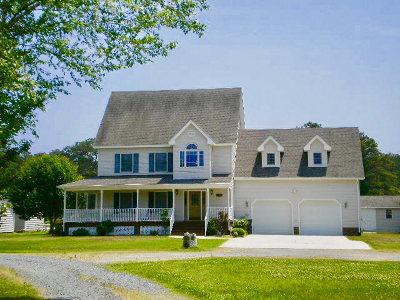 Chincoteague Single Family Home For Sale: 5381 Britton Dr