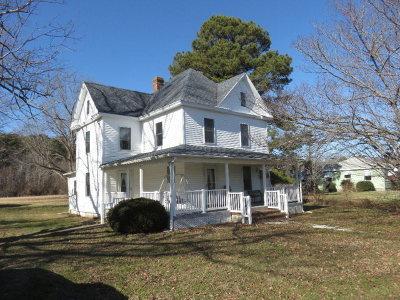 Accomack County Single Family Home For Sale: 16414 Hopeton Rd