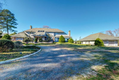 Northampton County, Accomack County Single Family Home For Sale: 16104 Country Club Rd