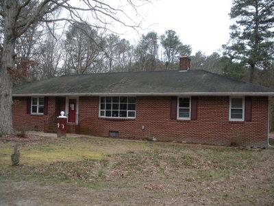 Northampton County Single Family Home Under Contract/Continue To Sho: 4460 Masden Gut Lane