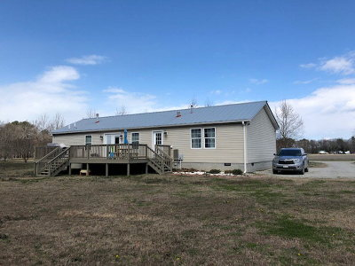 Northampton County, Accomack County Single Family Home Under Contract/Continue To Sho: 20510 Lankford Hwy