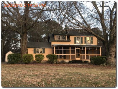 Accomack County Single Family Home Under Contract/Continue To Sho: 35503 Davis Wharf Rd