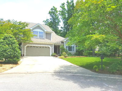 Northampton County Single Family Home Under Contract/Continue To Sho: 4 Perney Ct