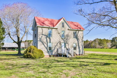 Northampton County, Accomack County Single Family Home For Sale: 20338 Bailey Road