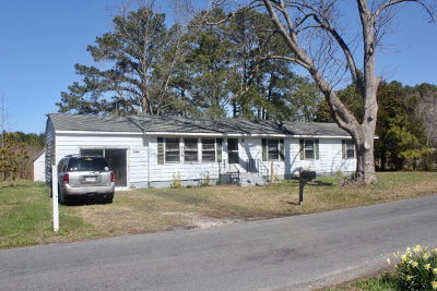 Accomack County Single Family Home For Sale: 11527 Hacksneck Rd