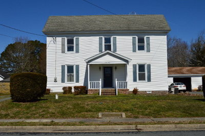 Accomack County Single Family Home For Sale: 29142 Phillips Dr