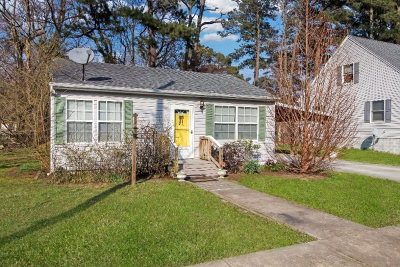 Chincoteague Single Family Home Under Contract/Continue To Sho: 7141 Mason Dr