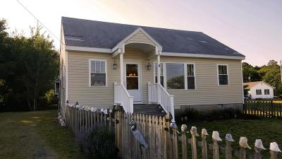 Chincoteague Single Family Home For Sale: 7703 East Side Rd