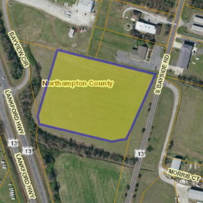 Cape Charles, Capeville, Kiptopeke, Cheriton Residential Lots & Land For Sale: 000 S. Bayside Road