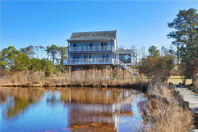 Chincoteague Single Family Home For Sale: 4381 Salt Marsh Ln