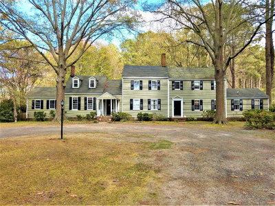 Northampton County Single Family Home For Sale: 2296 Wainhouse Rd