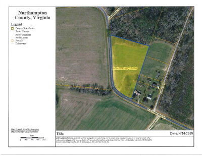 Cape Charles, Capeville, Kiptopeke, Cheriton Residential Lots & Land For Sale: 4267 Old Town Neck Dr