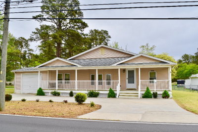 Chincoteague Single Family Home Under Contract/Continue To Sho: 3452 Willow St