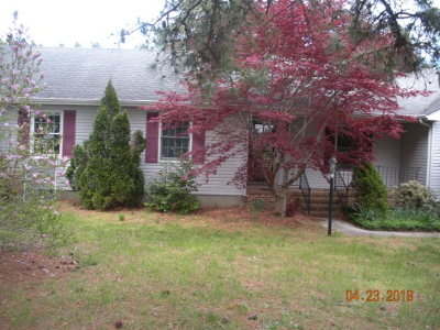 Accomack County Single Family Home Under Contract/Continue To Sho: 28435 Mitchell Dr