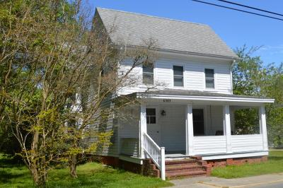 Chincoteague Single Family Home For Sale: 6383 Jester St