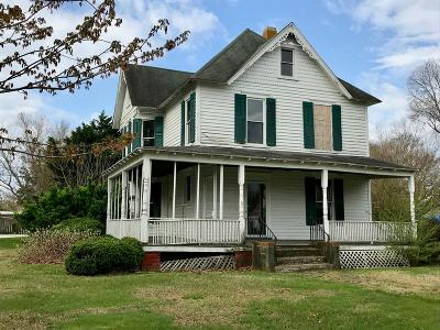 Accomack County Single Family Home For Sale: 24262 Adelaide St