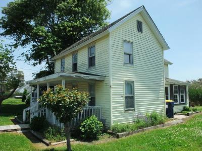 Chincoteague Single Family Home For Sale: 5516 Main St