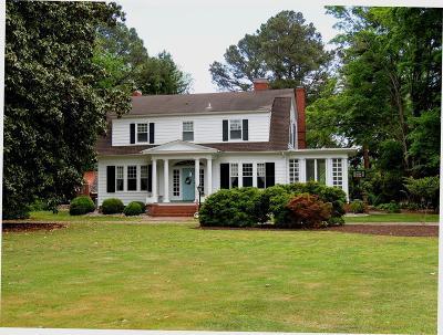 Northampton County Single Family Home For Sale: 7403 Bayside Dr